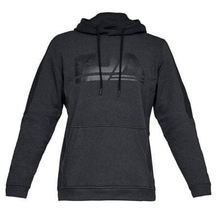 Under Armour Polarowa bluza Microthread Graphic, Mężczyźni Bluzy męskie Bluzy męskie Z
