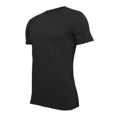 Tufte T-shirt U-neck Czarny CZARNY, Mężczyźni kark   CZARNY Z