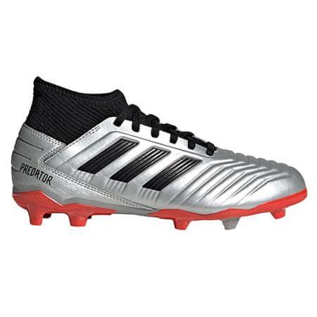 Adidas Nogometni čevlji PREDATOR 19.3 FG J, 37.3 EU 4.5 UK | 5Y ZDA | 22,9 CM