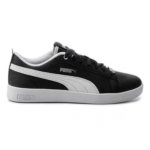 Puma Dámske topánky Puma Smash V2 Summer Pac ČIERNA / BIELA, ženy | 369130-01 | ČIERNA-BIELA | 39