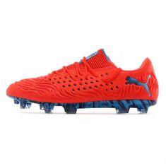 Puma Futballcipő FUTURE 19.1 NETFIT alacsony FG / AG ORANGE / BLUE, Férfiak 10553401 | BLUE-ORANGE 46