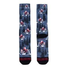 Xpooos Ponožky , X-MAS | Černá | 39-42 EUR