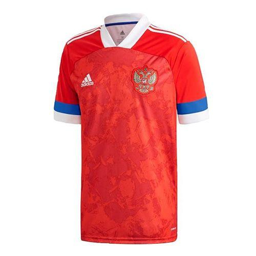 Adidas Dres Russia Home Jersey, MUŽI | FK4440 | ČERVENÁ | L