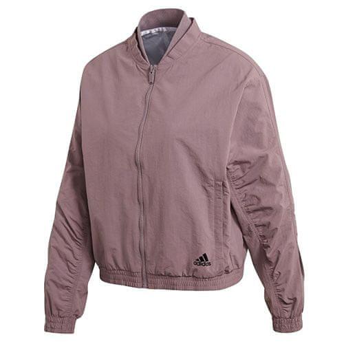 Adidas Dámská bunda , Woven Bomber Jacket   Fialová   M
