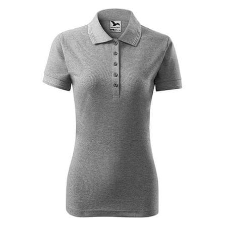 Adler Női Polo Pique póló, NŐK 21012 | SZÜRKE XS