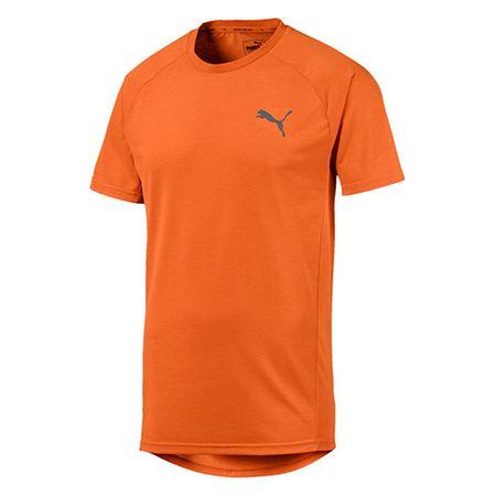 Puma Koszulka Evostripe, MĘŻCZYŹNI 580084-17 | POMARAŃCZOWY XL