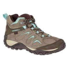 Merrell Dámska obuv , ženy | J77386 | HNEDÁ-SVETLE MODRÁ | 36