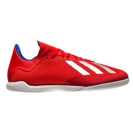Adidas Buty halowe X Tango 18.3 Indoor IC RED / WHITE, Mężczyźni BB9392 | BIAŁO - CZERWONY 46