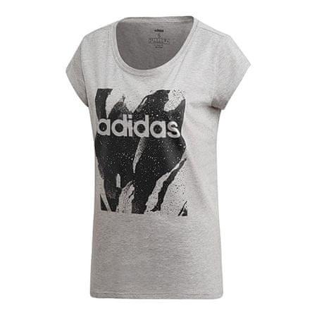 Adidas W E AOP TEE, DU0636   CORE NEO   T-SHIRTY   NASSOCIA XS