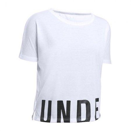 Under Armour Damska koszulka Oversize, KOBIETY 1290676-100 | BIAŁY L.