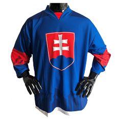 jersey53 Hokejový dres , Slovensko   Modrá   L