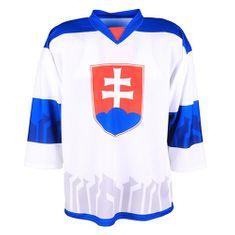 jersey53 Hokejový dres , Slovensko   Bílá   L