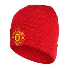 Adidas Čepice Manchester United, MUŽI | CY5592 | ČERVENÁ | UNIVERZÁLNÍ