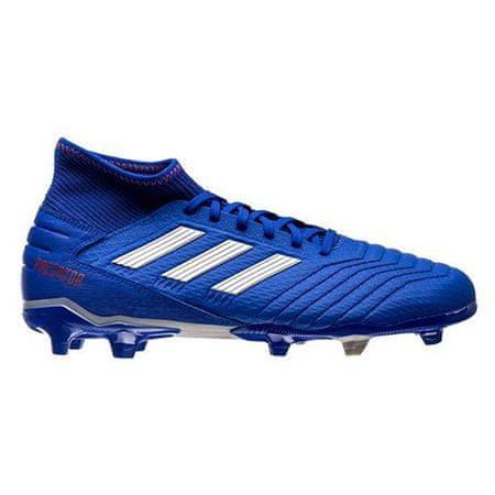 Adidas Nogometni čevlji PREDATOR 19.3 FG BLUE / WHITE, Moški BB8112 | BELO-MODRA | 42 2/3