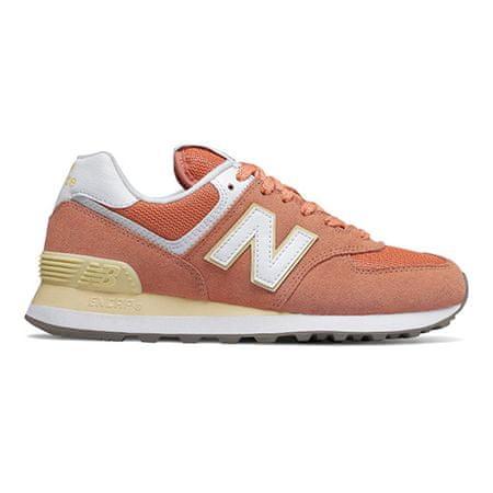 New Balance Női cipő WL574ESF ORANGE / WHITE, Nők 67577 | Fehér-narancs 40
