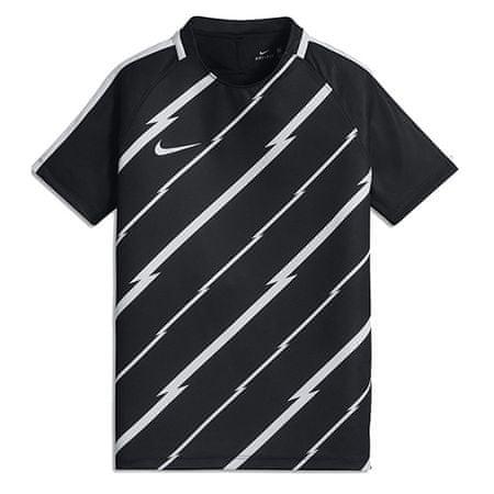 Nike Y NK DRY SQD TOP SS GX, 10. | FABOTBALL / FOCCER | YOUTH UNISEX RÖVID HÁLÓ FEL | FEKETE / FEHÉR / FEHÉR | M