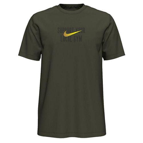 Nike Tričko , Dri-FIT Swoosh Training   Khaki   L