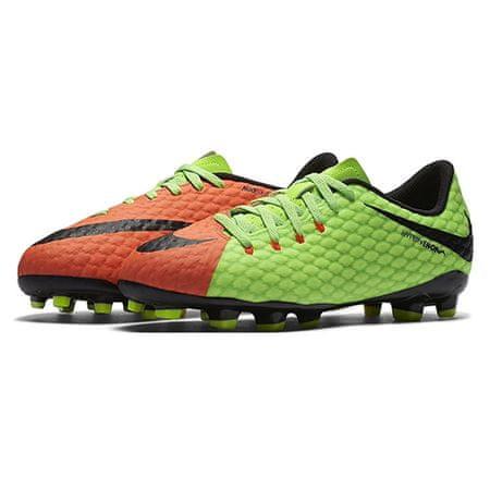 Nike JR HYPERVENOM PHELON III FG, 20. | FABOTBALL / FOCCER | GRD ISKOLA UNSX | LOW TOP | ELEKTROMOS ZÖLD / FEKETE HIPER SZERET | 4.5Y