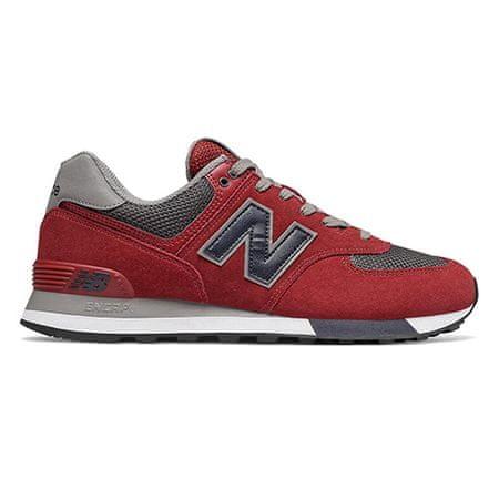 New Balance Új Balance ML574FNB cipő, FÉRFIAK ML574FNB   PIROS 40