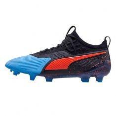 Puma Buty piłkarskie ONE 19.1 Syn FG / AG BLACK / BLUE, Mężczyźni 10548101 | CZARNO-NIEBIESKI 46