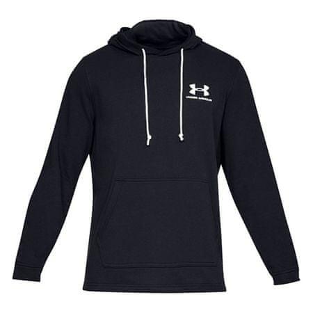 Under Armour Terry bluza z kapturem Under Armour Sportstyle, Mężczyźni Bluzy męskie czarny XL