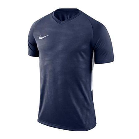 Nike Y NK DRY TIEMPO PREM JSY SS, 10 | PIŁKA NOŻNA / PIŁKA NOŻNA | MŁODZIEŻ UNISEX TOP Z KRÓTKIM RĘKAWEM | MIDNIGHT NAVY / MIDNIGHT NAVY / WH | M.