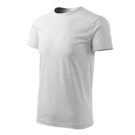 Adler Koszulka BAS, Koszulka z krótkim rękawem, rozmiar L, szary, bawełna