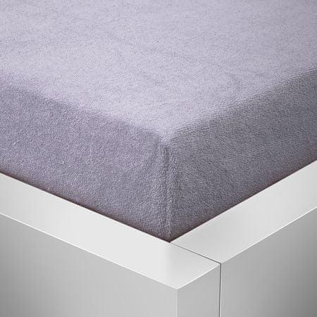 Top textile Prześcieradło Terry Top - szare, 60x120 cm