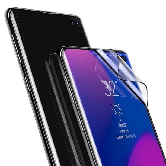 BASEUS Full-screen 3D 2x ochranná fólie na Samsung Galaxy S10 Plus, černá