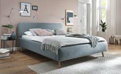 We-Tec Manželská posteľ MATTIS bez úložného priestoru a roštov, 3 rozmery, 4 farby