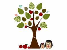 RoomDecor.eu Dětské samolepky Strom a ježci-10
