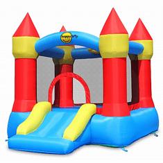 Happy Hop Skákací hrad se skluzavkou