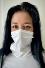 NanoBodix NanoBodix® AgTive multifunkční šátek bílý