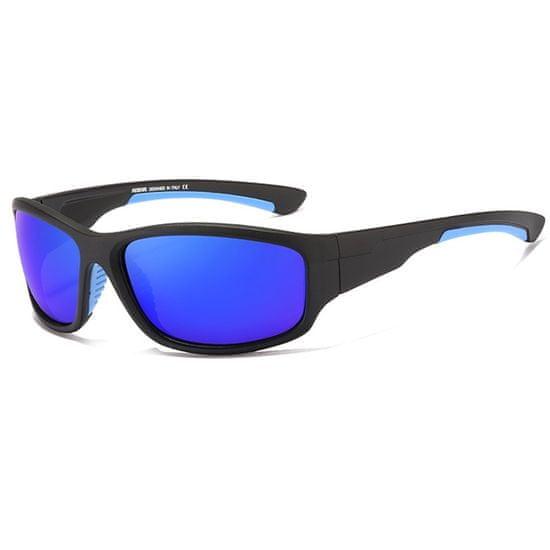 KDEAM Forest 5 sluneční brýle, Black / Blue