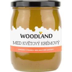 Medino WOODLAND - Med květový krémový Hmotnost: 700g