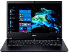 Acer TravelMate P6 TMP614-51-G2-77HF prijenosno računalo, crno