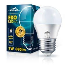 ETA LED žarulja, G45, E27, 7 W, neutralno bijela