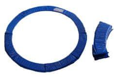 Too Much obroba za trampolin, 244 cm, modra