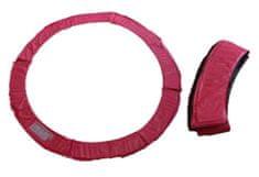 Too Much obroba za trampolin, 244 cm, roza