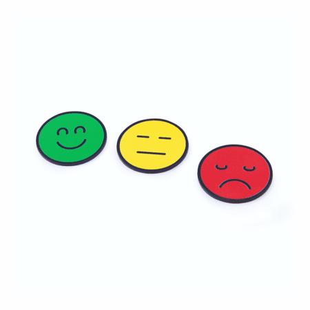 rocada Smiley magneti za aktivnostne planerje na beli tabli