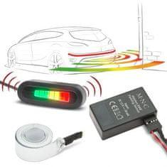 M.N.C. Nevidni parkirni senzorji EMR brez vrtanja 220 cm z LED zaslonom in alarmom