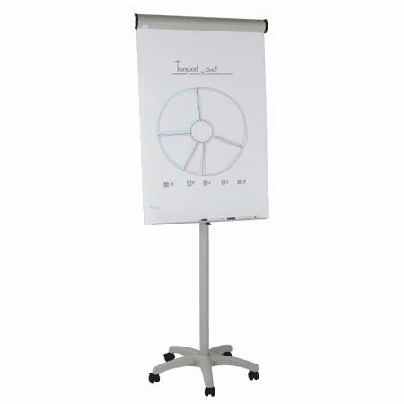 rocada mobilen Flipchart Economy + začetni komplet, 104x68 cm