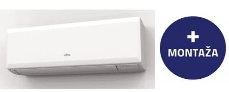 Fujitsu 09KPCA stenska klimatska naprava, z montažo