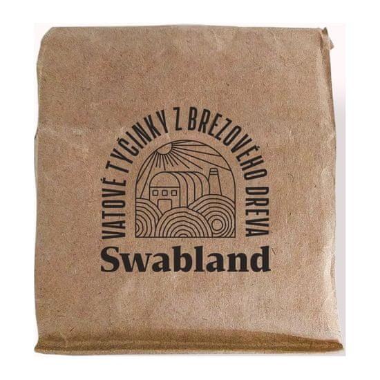 Swabland Tyčinky do uší z březového dřeva, 200 Ks