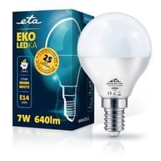 ETA LED žarulja, P45, E14, 7 W, toplo bijela