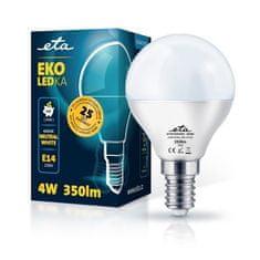 ETA LED žarulja, P45, E14, 4 W, neutralno bijela