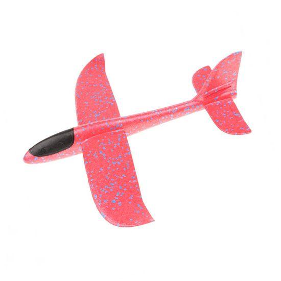 FOXGLIDER Detské hádzací lietadlo - hádzadlá červené 48CM EPP