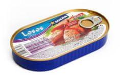 SOKRA Losos filety v pikantnom kréme 170 g