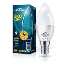 ETA LED žarulja, E14, 7 W, toplo bijela