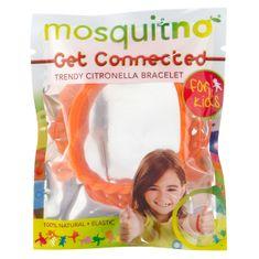 MosquitNo Náramky s citronelovou vůní (5 ks) - pro děti
